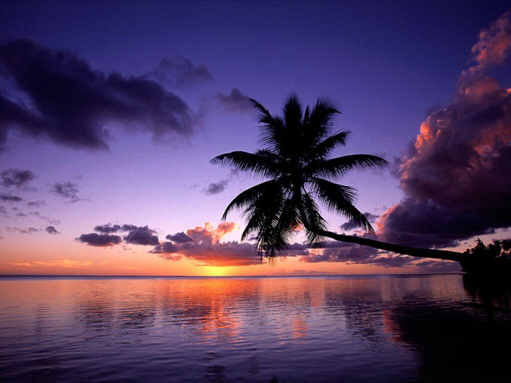Paysages - Coucher de soleil en guadeloupe ...